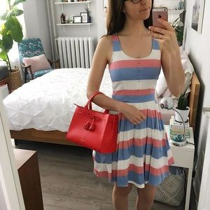 Maison Simons Twik candy striped dress